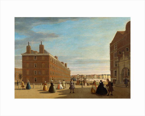 The Paper Buildings, Inner Temple by Anonymous