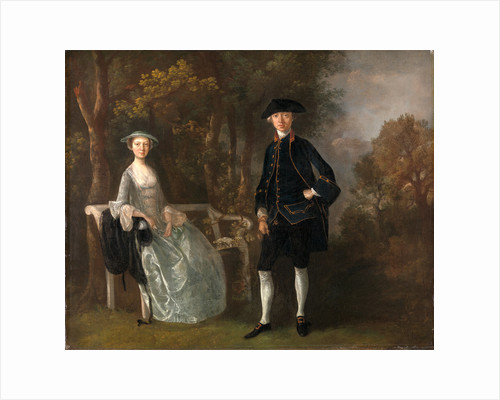 Lady Lloyd and Her Son, Richard Savage Lloyd, of Hintlesham Hall, Suffolk by Thomas Gainsborough