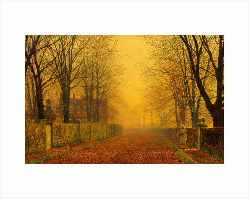 Evening Glow by John Atkinson Grimshaw