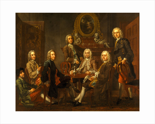 Portrait of a Group of Gentleman by Francis Hayman