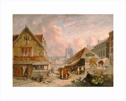 The Old Fishmarket, Norwich by David Hodgson