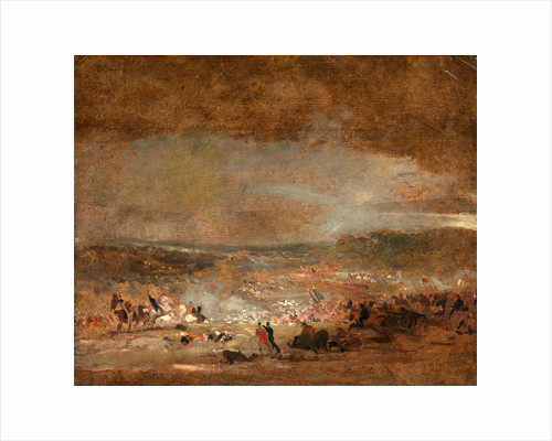 Study for 'Battle of Waterloo' by George Jones