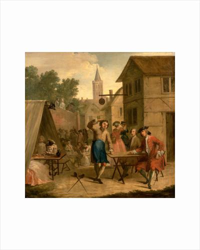 Hob Selling Beer at the Wake by John Laguerre