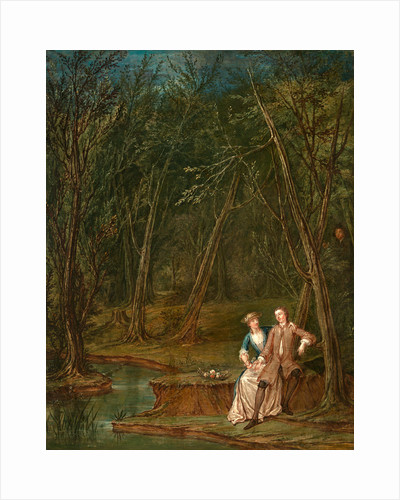 Lovers in a glade Lovers in a Glade (II) by Marcellus Laroon the Younger