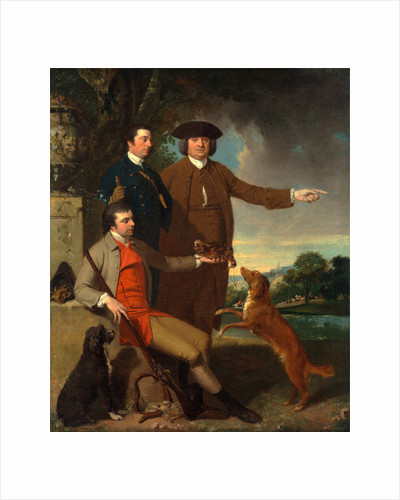 Self-Portrait with His Father and His Brother by John Hamilton Mortimer