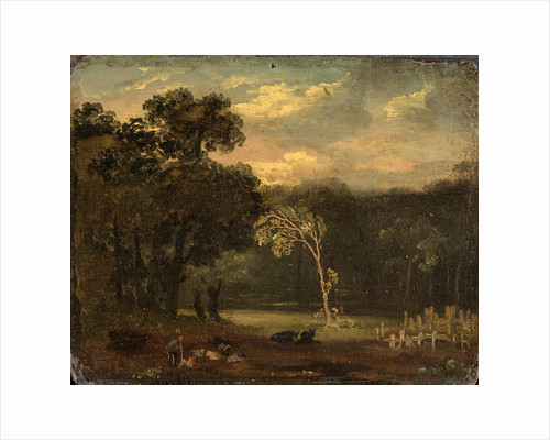 Sketch from Nature in Sion Park, London by Samuel Palmer