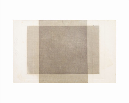 Veil: Engine Ruled Lines, Crossed at Right Angles by William Henry Fox Talbot