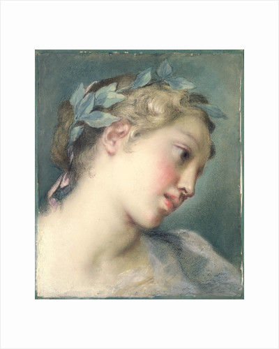 A Muse by Rosalba Carriera