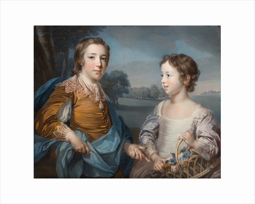 Portrait of Joseph and his Brother John Gulston by Francis Cotes