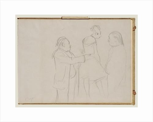 Sketches of a Ballet Master by Edgar Degas