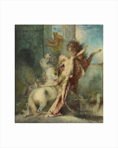 Diomedes Devoured by Horses by Gustave Moreau