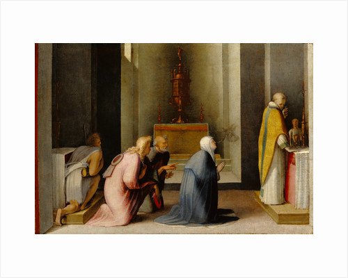 The Miraculous Communion of Saint Catherine of Siena by Domenico Beccafumi