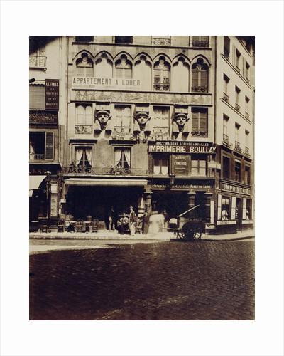 Maison Place du Caire 2 (Building, Place du Caire) by Eugène Atget