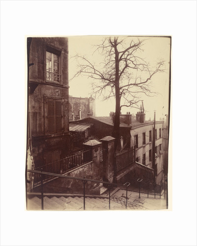 Staircase, Montmartre by Eugène Atget