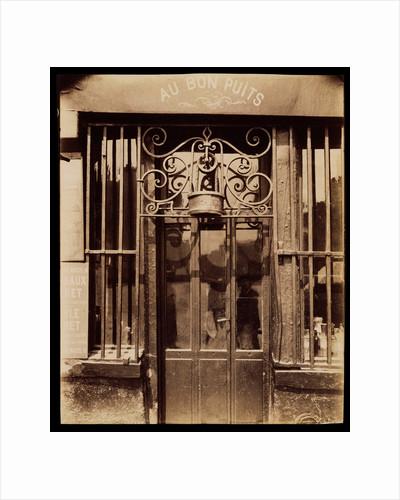 Au bon puits, rue Michel Le Conte, 36 (IIIe) by Eugène Atget