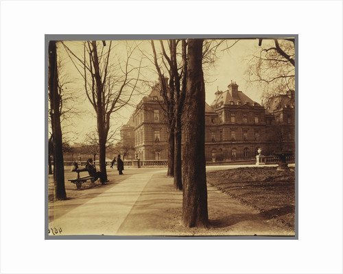 Jardin du Luxembourg (Luxembourg Gardens) by Eugène Atget