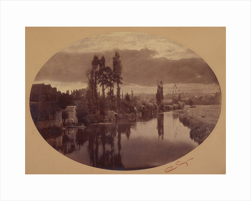 River Scene, France by Camille Silvy