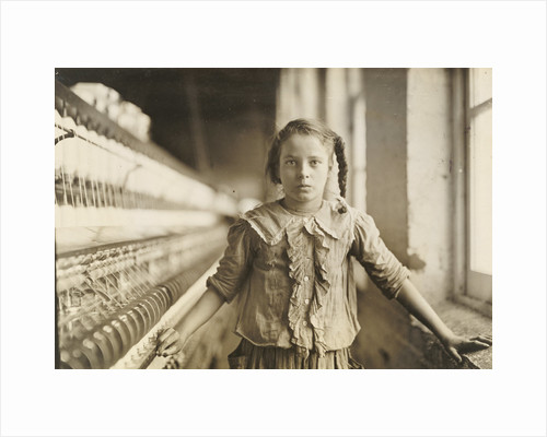 Cotton-Mill Worker, North Carolina by Lewis W. Hine