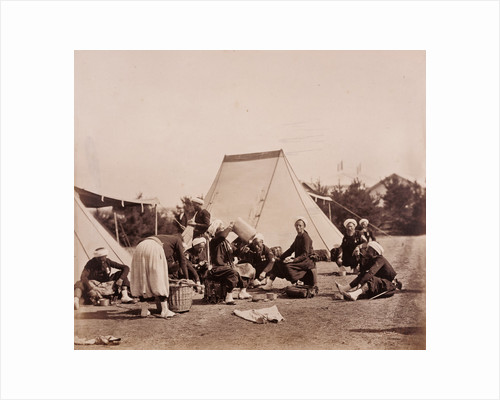 Zouaves' Meal by Gustave Le Gray