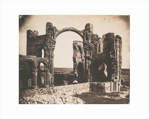 Lindisfarne Priory, Holy Isle by Roger Fenton