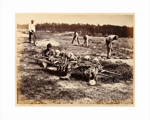 A Burial Party, Cold Harbor, Virginia by John Reekie