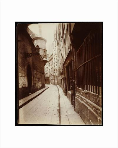 Rue de l'Hôtel-de-Ville by Eugène Atget