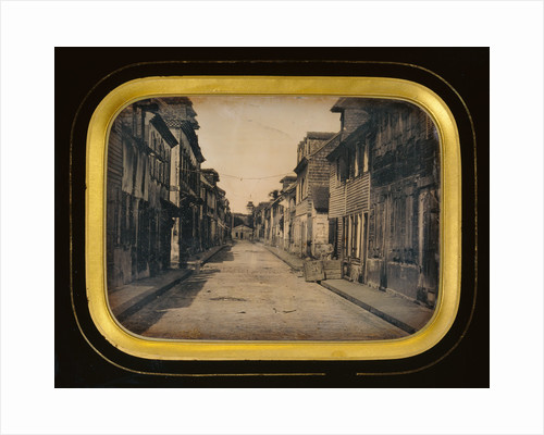 Street in Saint Pierre, Martinique by Anonymous