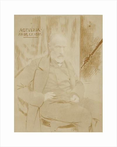Portrait or self-portrait of Achille Devéria by Achille Devéria