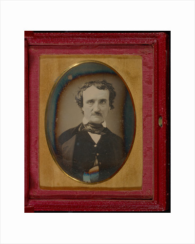 Portrait of Edgar Allan Poe by Anonymous