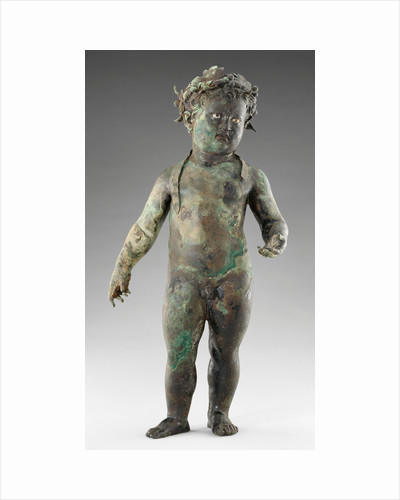 Statue of the Infant Cupid by Anonymous
