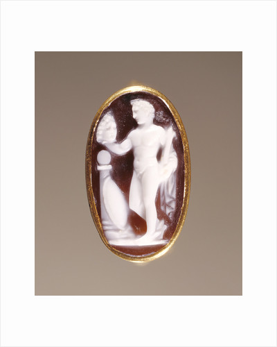 Cameo Gem set into a Ring by Anonymous