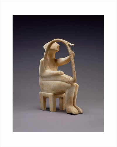 Male Harp Player of the Early Spedos type by Anonymous