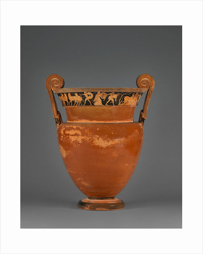 Attic Red-Figure Volute Krater by Kleophrades Painter and a pupil