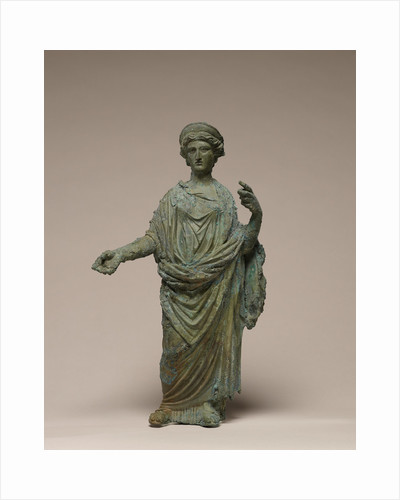Statuette of a Goddess, probably Ceres or Juno by Anonymous