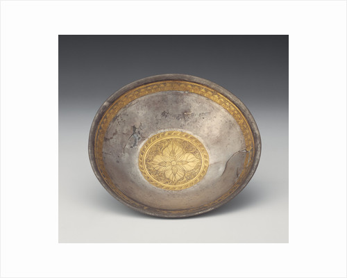 Bowl with Leaf Calyx Medallion by Anonymous