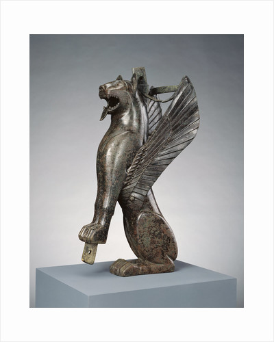 Furniture Support Representing a Winged Feline by Anonymous