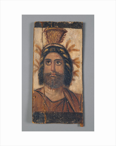 Panel with Painted Image of Serapis by Anonymous