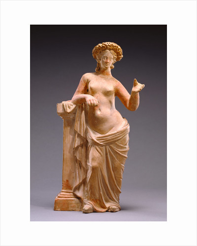 Statuette of Aphrodite Leaning on a Pillar by Anonymous