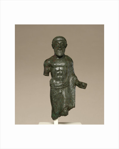 Statuette of a Bearded Man, Probably Tinia by Anonymous