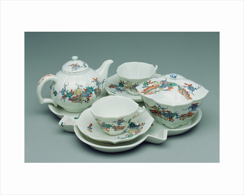 Tea Service by Chantilly Porcelain Manufactory