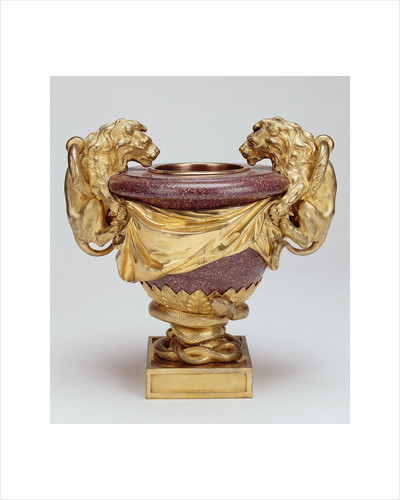 Porphyry Urn by Anonymous