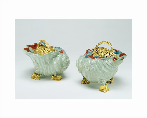 Pair of Pot-pourri Bowls by Anonymous