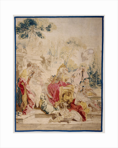 The Toilette of Psyche from The Story of Psyche tapestry series by Anonymous