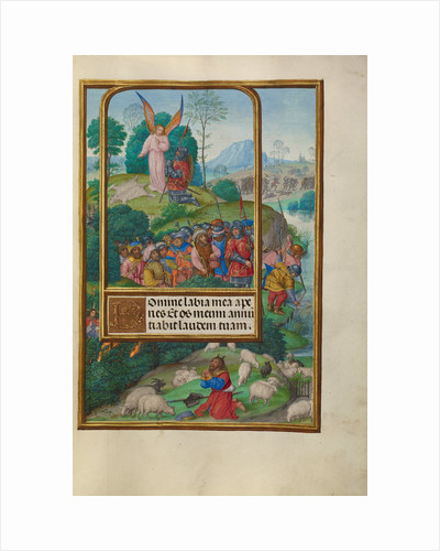Scenes from the Life of Gideon and Moses and the Burning Bush by Master of James IV of Scotland