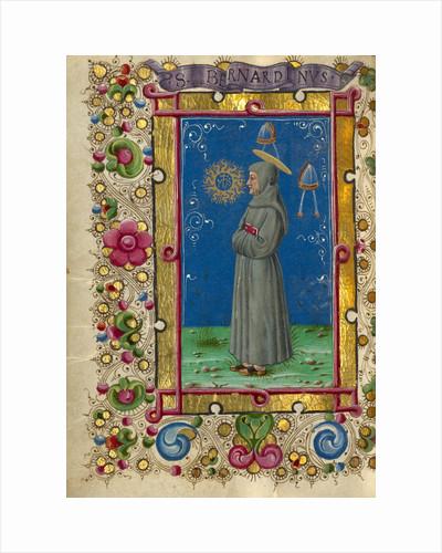 Saint Bernardino of Siena by Taddeo Crivelli