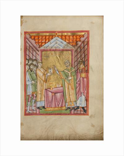 Bishop Engilmar Celebrating Mass by Anonymous