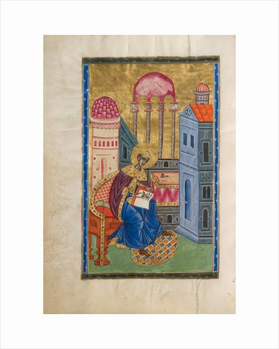 Solomon Writing by Malnazar