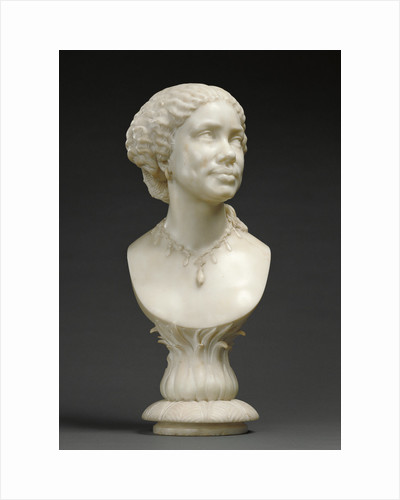 Bust of an African Woman (based on an image of Mary Seacole 1805 - 1881) by Henry Weekes
