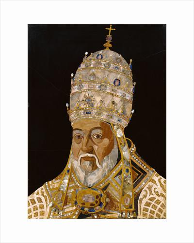 Portrait of Pope Clement VIII (Ippolito Aldobrandini) by Jacopo Ligozzi