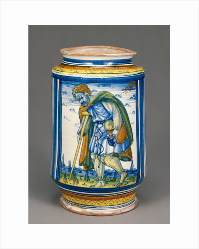 Jar with a Lame Peasant by Anonymous